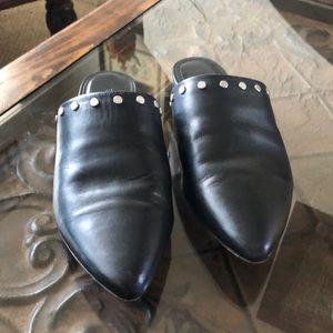 Bernardo Leather studded Mule